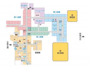 第2病棟・調理室 増築図